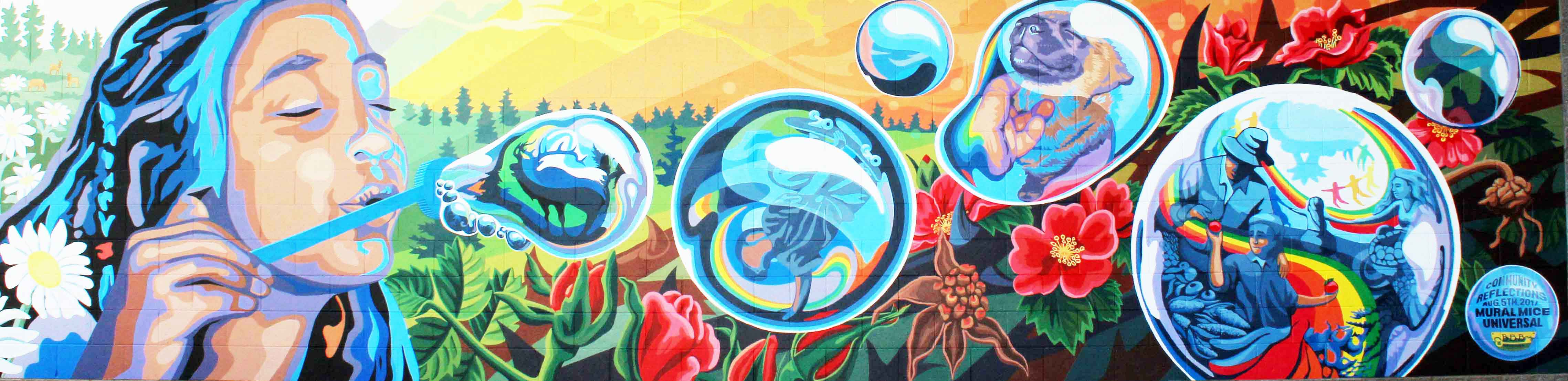 Community Reflections Mural
