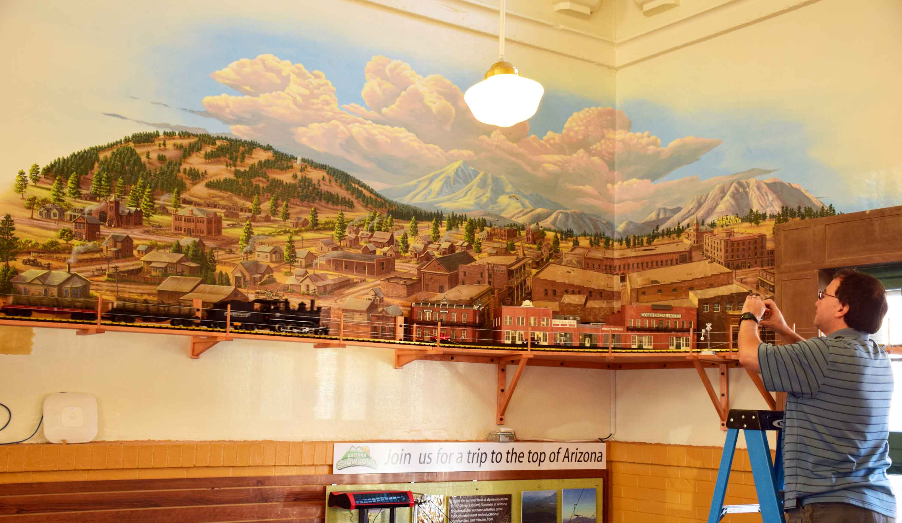 Flagstaff Visitor Center Mural 12