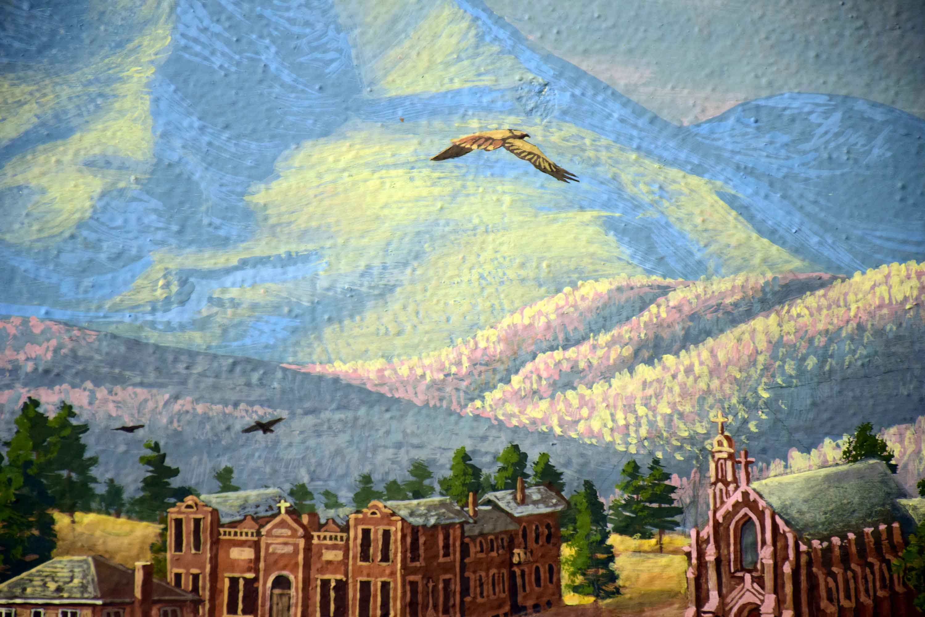 Flagstaff Visitor Center Mural 19