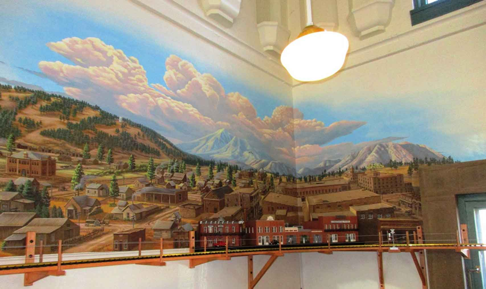 Flagstaff Visitor Center Mural 22