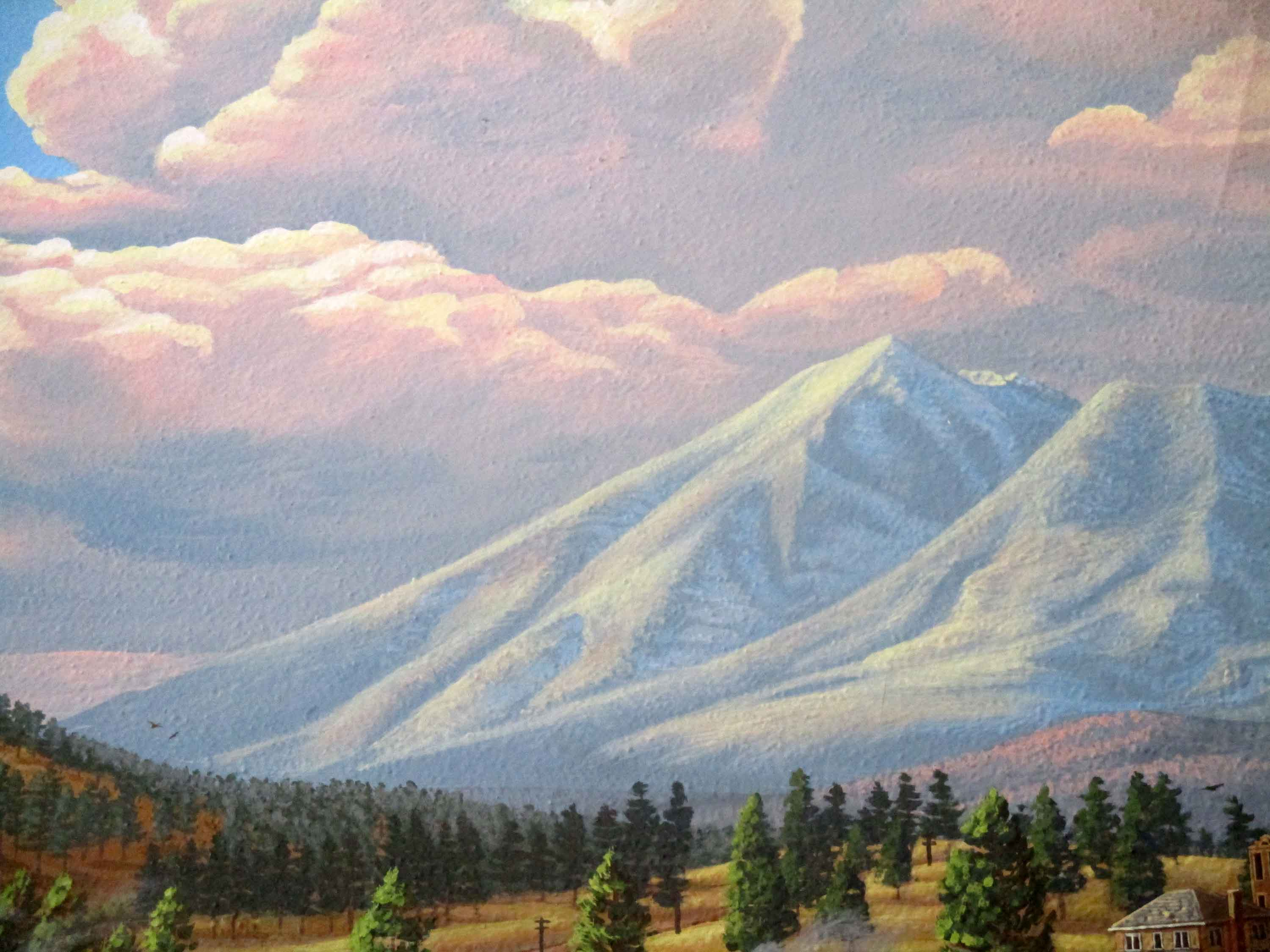 Flagstaff Visitor Center Mural 66