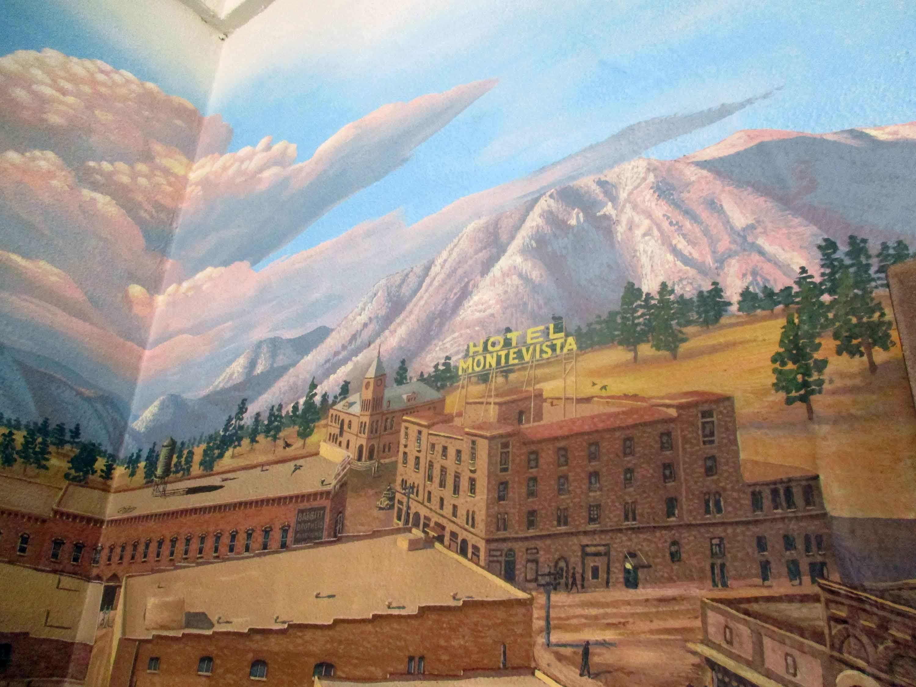 Flagstaff Visitor Center Mural 68