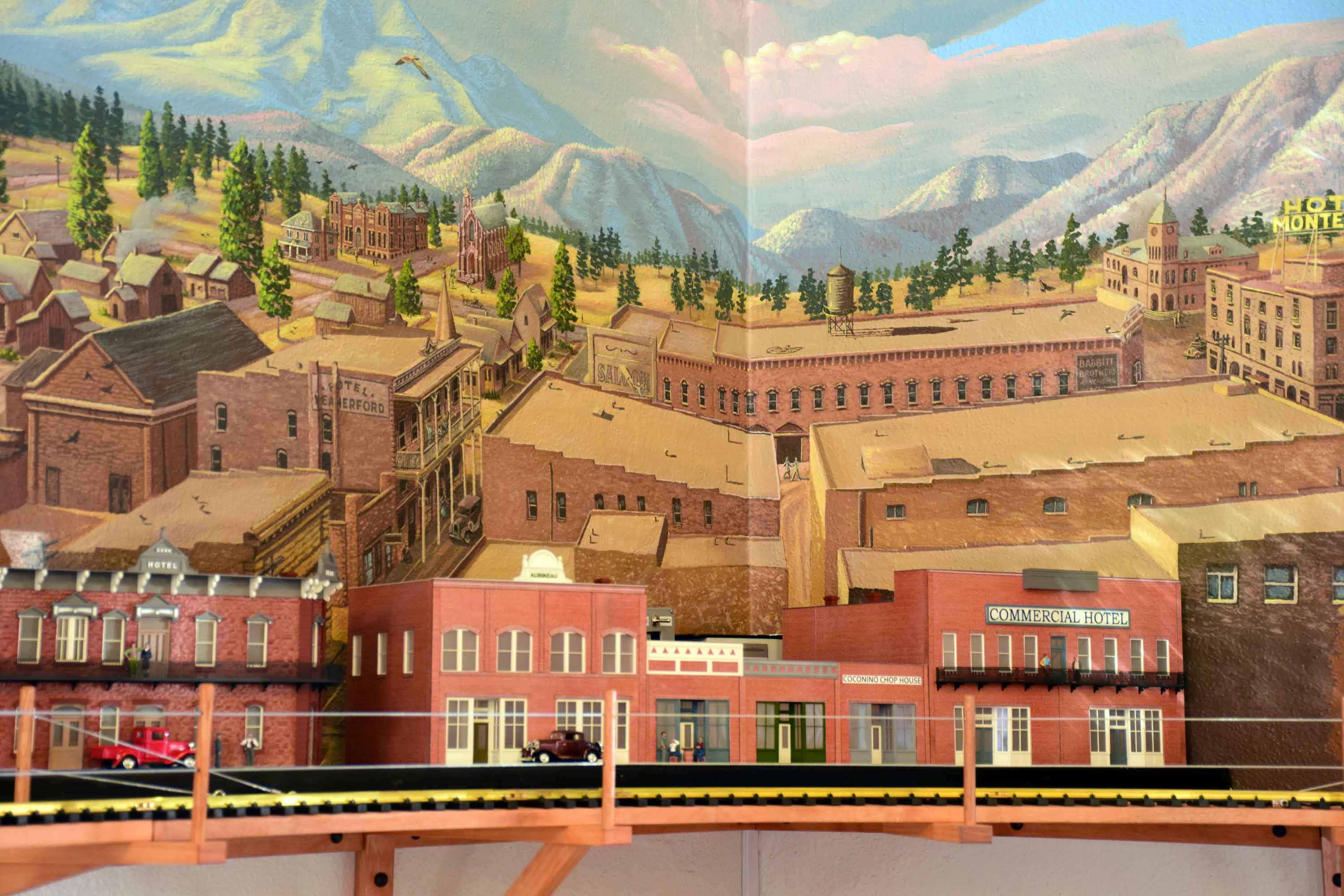 Flagstaff Visitor Center Mural 8
