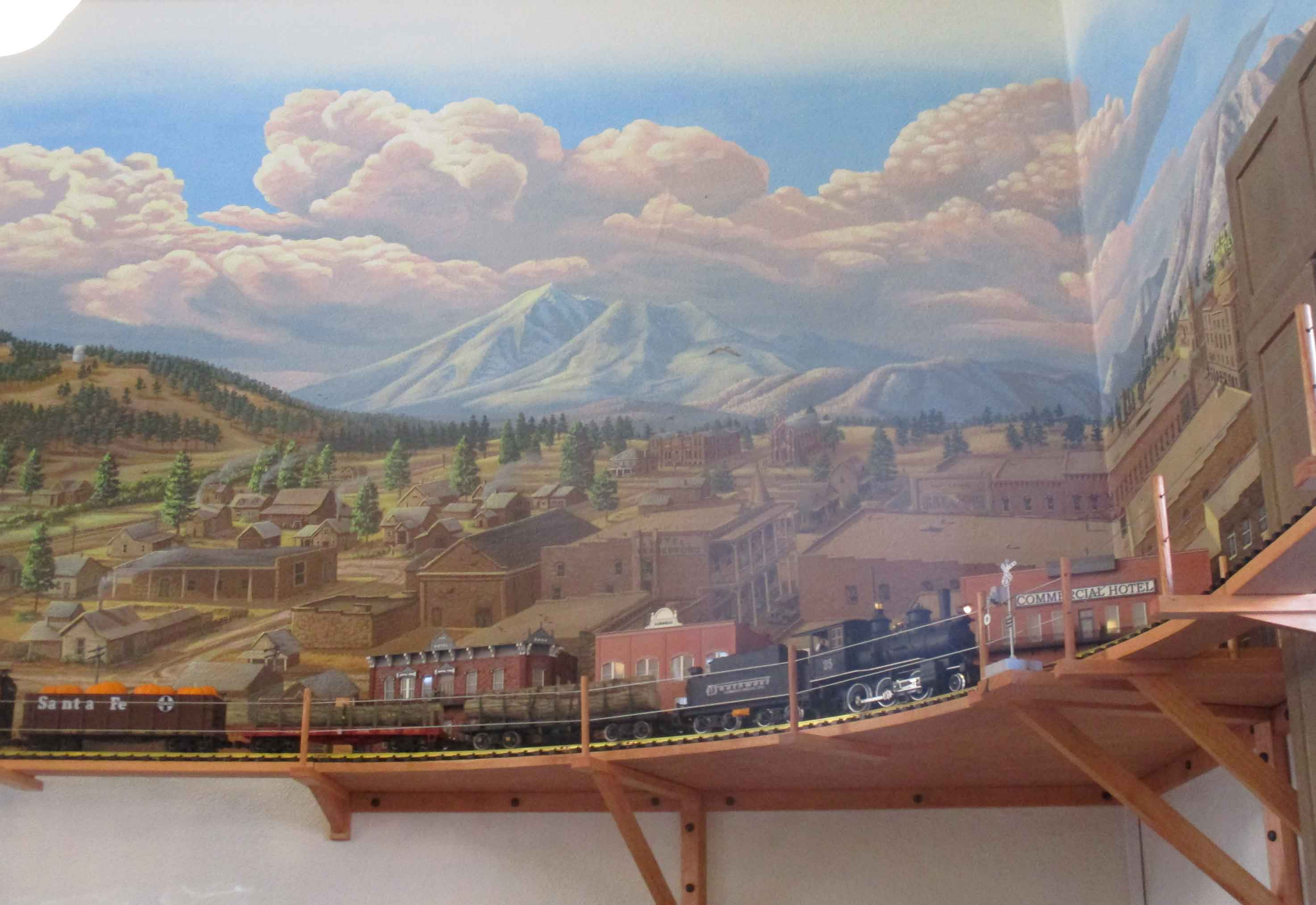Flagstaff Visitor Center Mural 81
