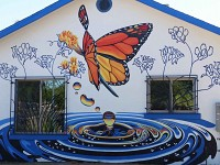 Monarch House Mural, Peoria Az. 2019